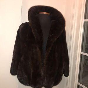 Bartlett Furs Mink Cape